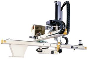 Apex injection moulding robot SB Series beam robot