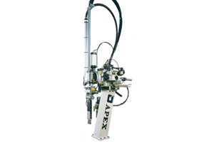 Apex injection moulding robot systems