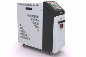Dual purpose injection moulding temperature control units