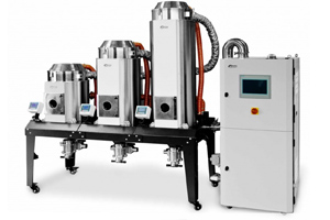 Shini injection moulding modular dryers UK